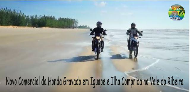 Novo Comercial da Honda Gravado em Iguape e Ilha Comprida no Vale do Ribeira