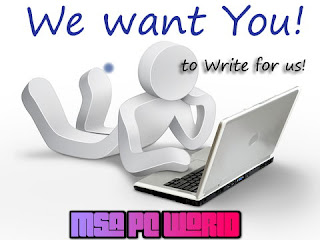 Write a Guest Posts At Msa Pc W0rld