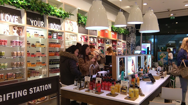 Body Shop VIP event