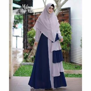 Jual Baju Busana Muslim Gamis Mileni syari