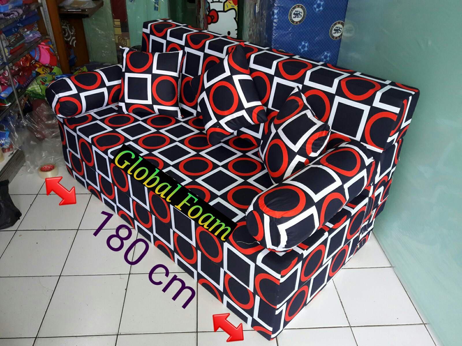 harga cover sofa bed inoac fundas para peru kasur 2017 distributor busa asli global