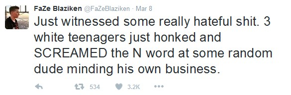 FaZe Blaziken Tweeting about N Word