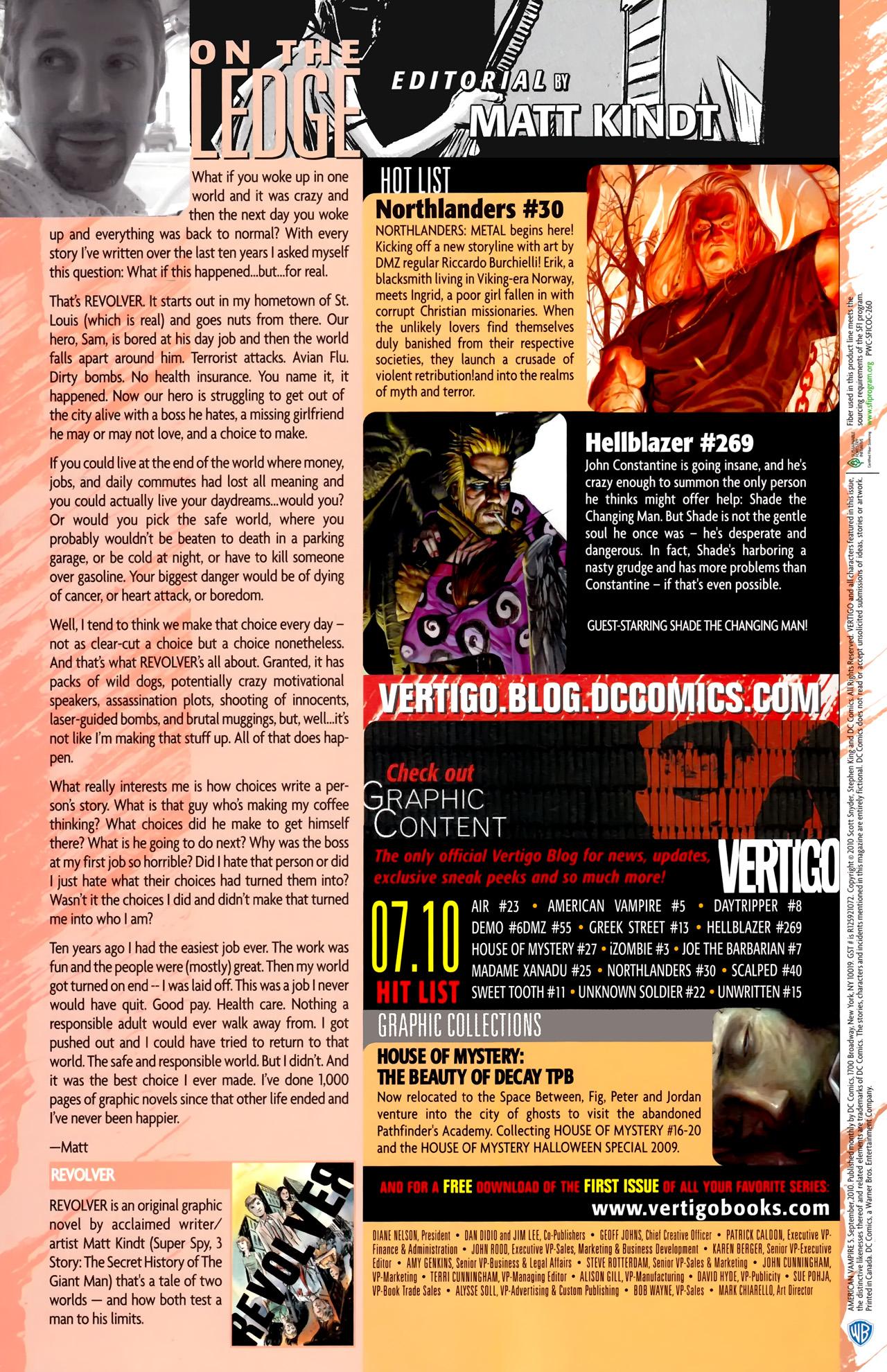 Read online American Vampire comic -  Issue #5 - 35