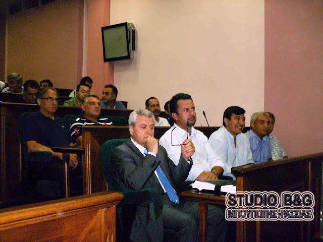 Δημοτικό Συμβούλιο στις 19 Οκτωβρίου στο Άργος