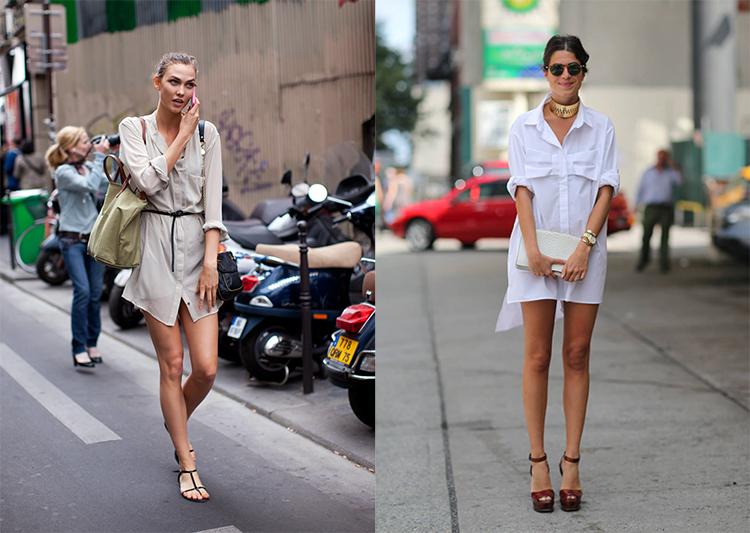vestidos camisa