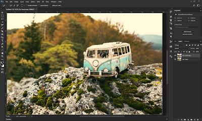Sekarang yang akan kita bahas kali ini ialah Box Blur Menggunakan Box Blur   Mengenal Filter di Photoshop