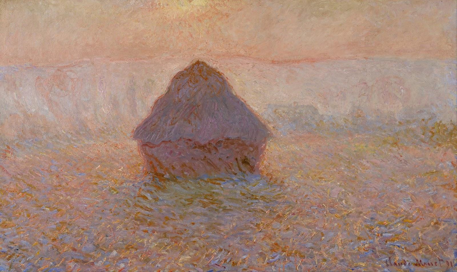 Claude Monet | Haystacks / I Covoni | Tutt'Art@ | Pittura • Scultura •  Poesia • Musica