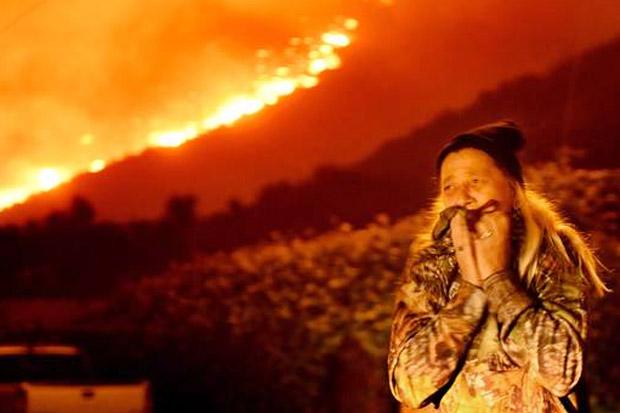 Kebakaran Hutan, Trump Umumkan Keadaan Darurat di California