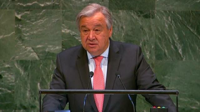 ONU alerta por consecuencias irreversibles del cambio climático