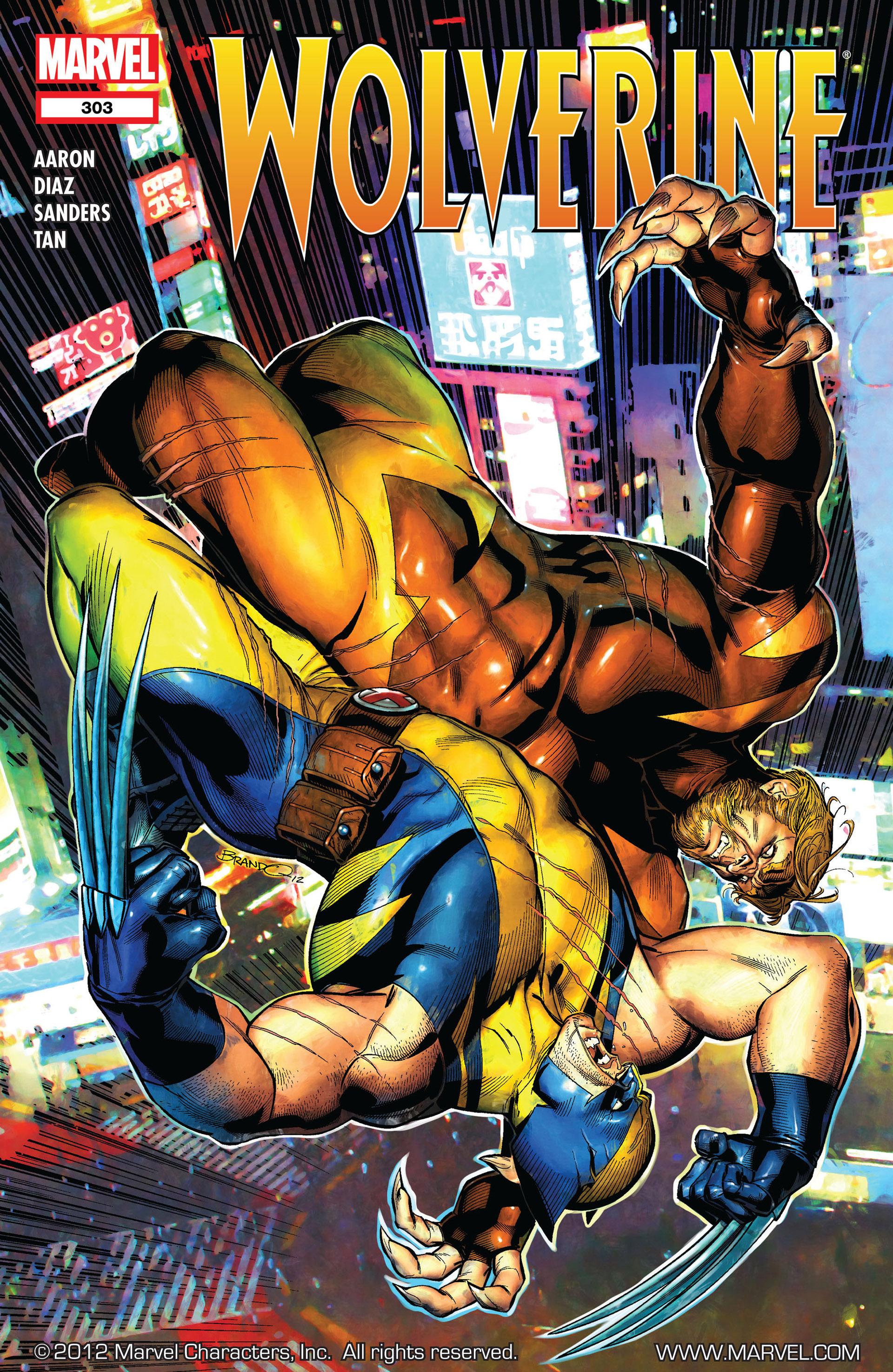 Wolverine (2010) 303 Page 1