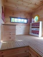 Lombház építése gyerekeknek berendezés
