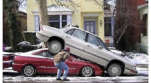 ركن السيارات ليس بالعبة