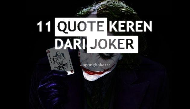 111 Quote Fenomenal dari Joker  Jagongbakarrr  Sinopsis