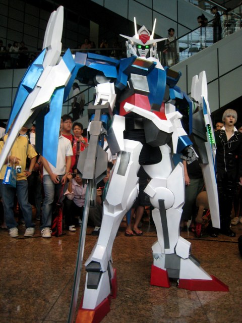 2 old 4 anime Cosplay GUNDAM MECHA