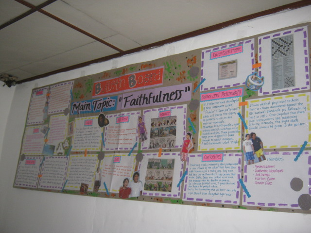 Peri dicos murales for Cuales son las partes del periodico mural