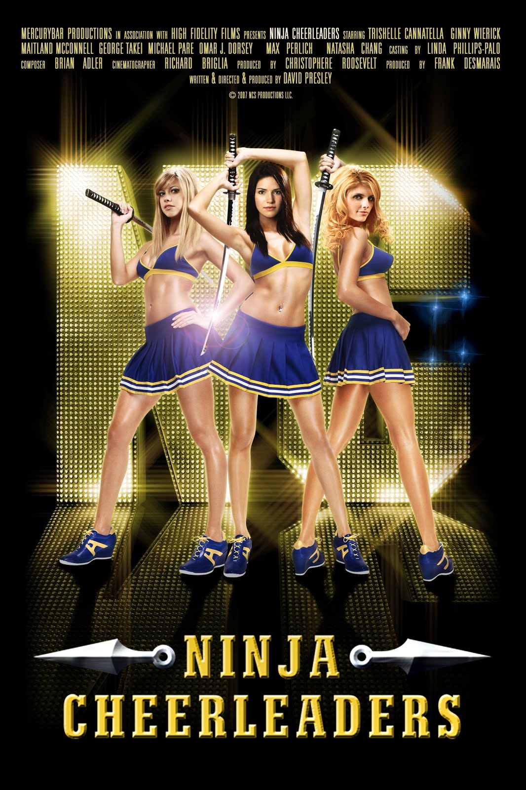 18+ Ninja Cheerleaders (2008) full hd Unrated Dual Audio Hindi 480p BluRay 350MB