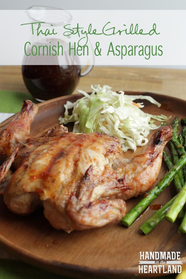 Thai Style Grilled Cornish Hen  #Grill4Flavor  #shop