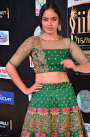Nandita Swetha in a tight Green Choli Ghagra at IIFA Utsavam Awards March 2017 ~ 020.JPG