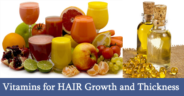 Natural Vitamins for HAIR Growth and Thickness