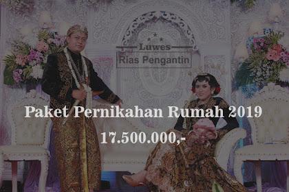 Paket Pernikahan di Bekasi untuk resepsi di Rumah 2019
