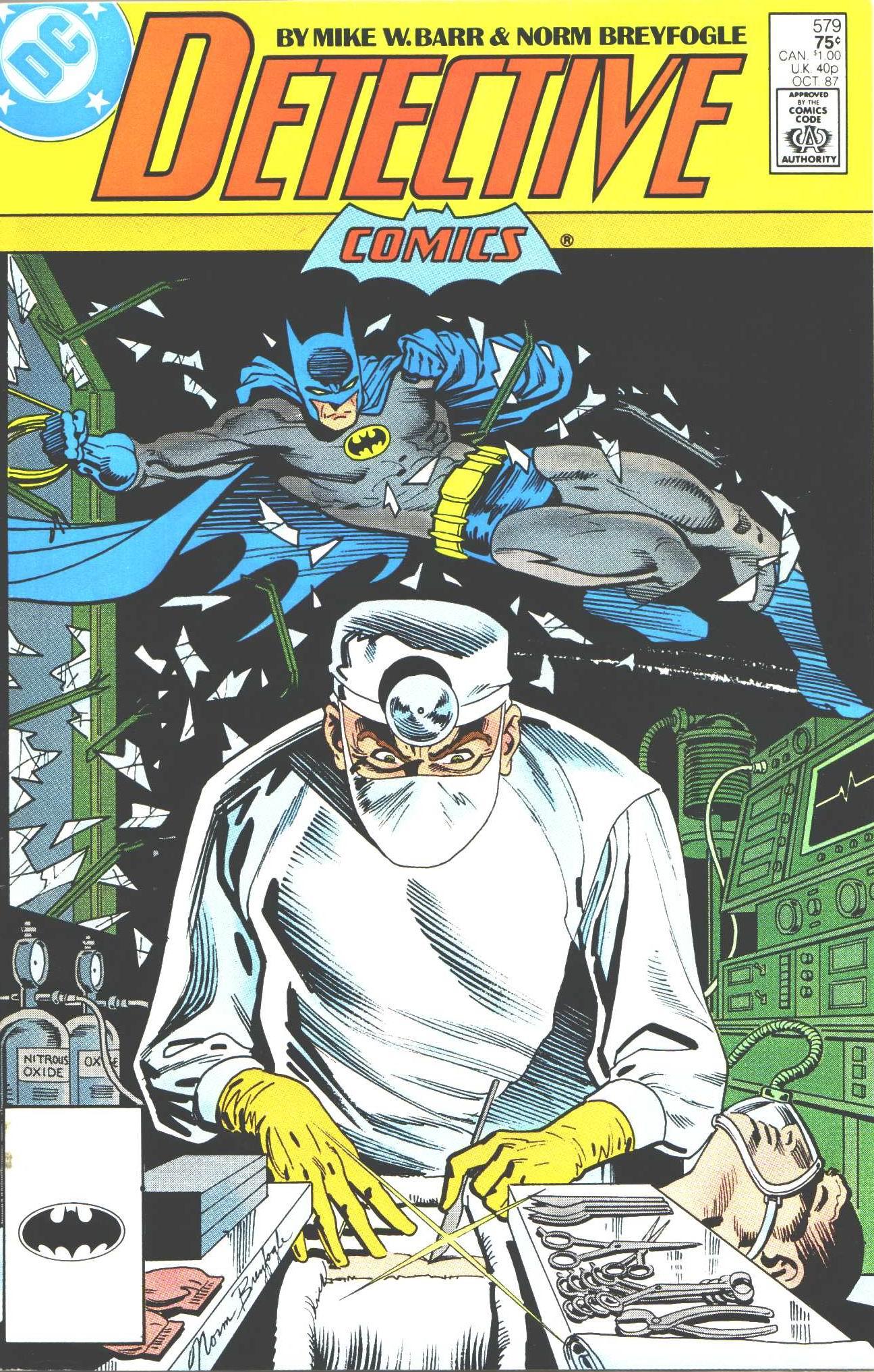 Detective Comics (1937) 579 Page 0