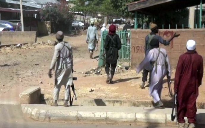 Boko-Haram-insurgents-killed-6-Civilian-JTF-members-in-Borno-village