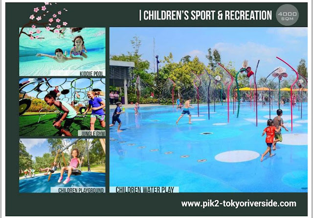 Children Sport & Recreation @ Tokyo Riverside Apartment PIK 2