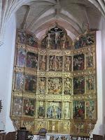 Retablo Monasterio Cañas