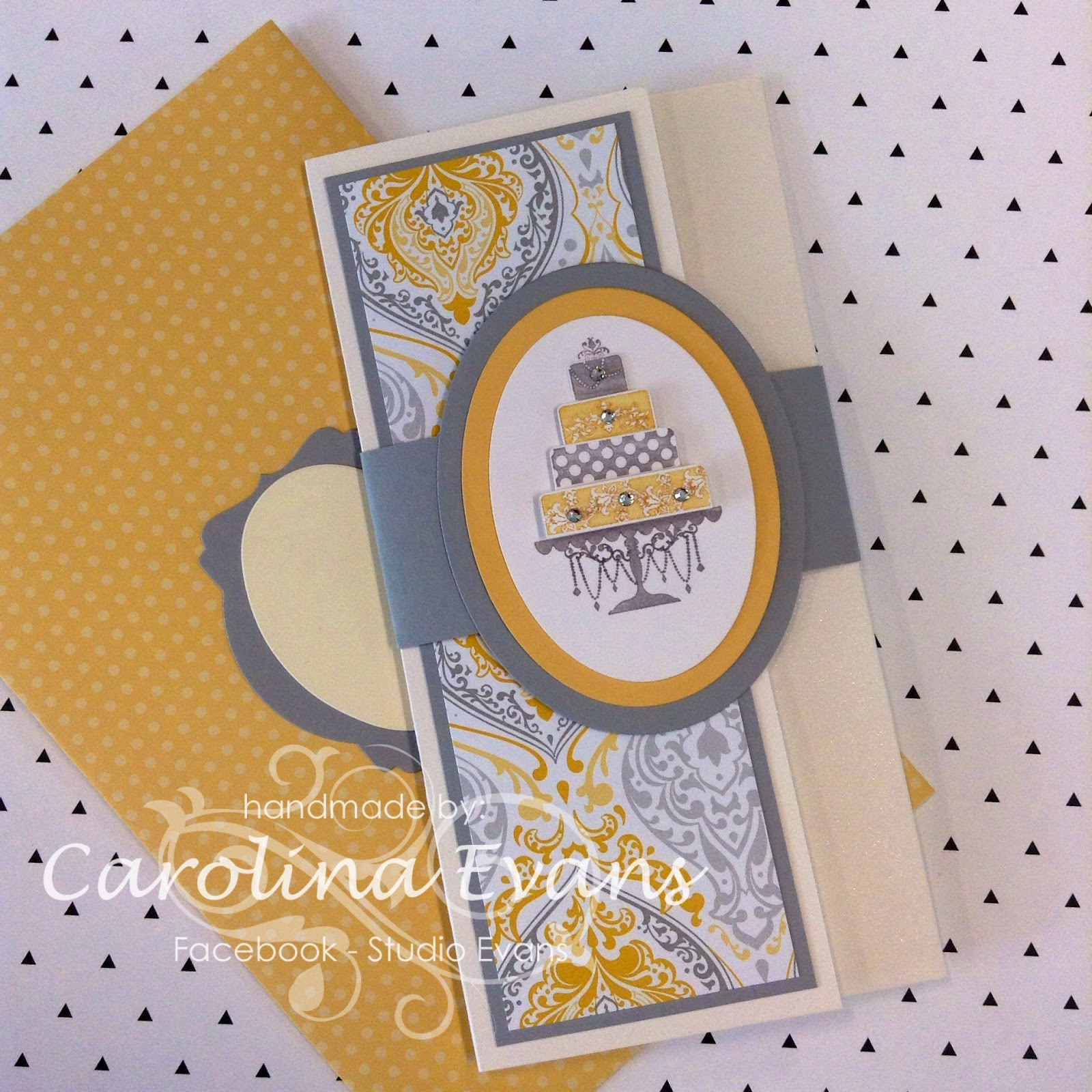Stampin' Up! Eastern Elegance Wedding Money Card