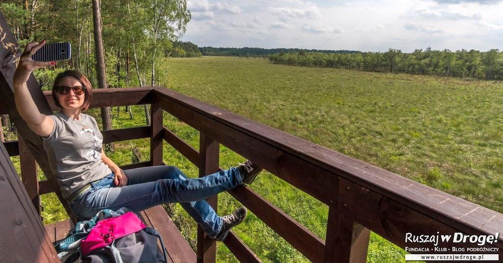 Poleski Park Narodowy - wieża widokowa na Durne Bagno