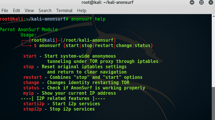 What Is Anonsurf?| Anonymize The System Completely While Hacking In Kali Linux.-crackitdown