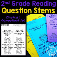 https://www.teacherspayteachers.com/Product/2nd-Grade-Reading-Question-Stems-3703101