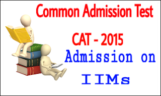 cat 2015 exam admission
