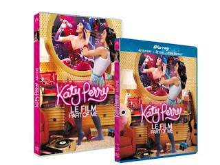 Katy Perry - Part Of Me en DVD et Blu-ray