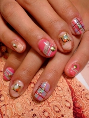 Kewtified: Easy Nail Art Designs for Short Nails 2012-2013