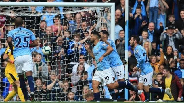 City Kembali Puncaki Klasemen Premier League Setelah Pesta Gol Ke Gawang Burnley