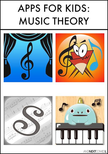 Music theory apps for kids from And Next Comes L