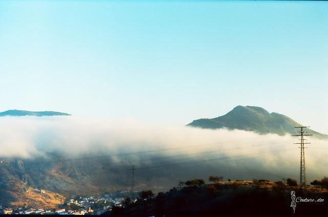 widok na góry Sierra Nevada
