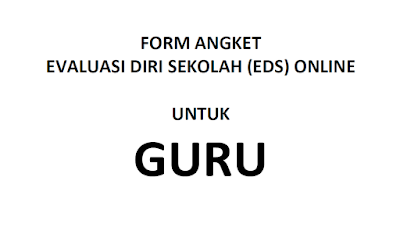 Download Angket EDS Guru - Galeri Guru