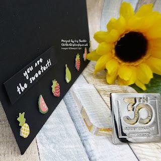 Tutti Frutti Dramatic Card Stampin Up