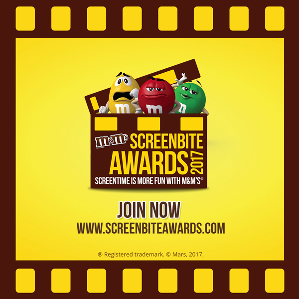 M&M'S® Screenbite Awards 2017