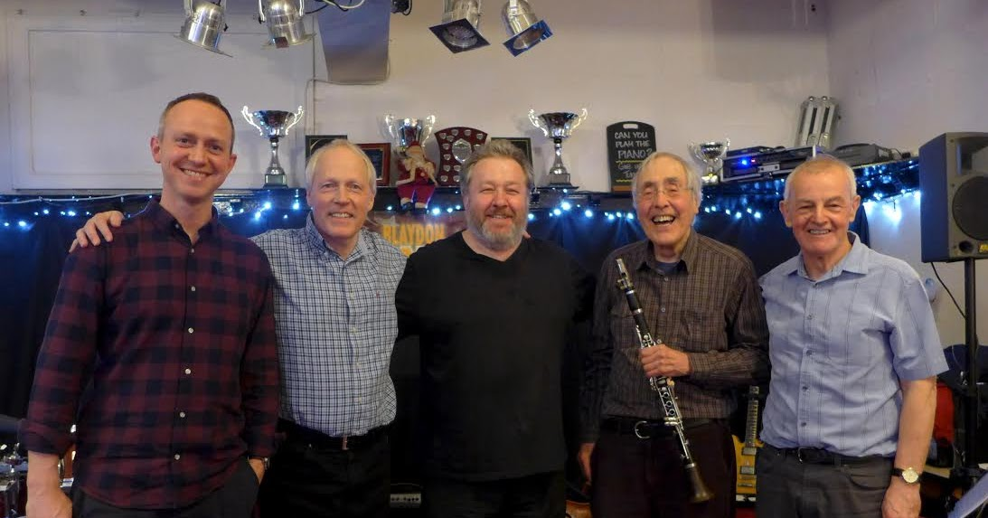 bebop spoken here: George MacDonald & James Birkett with ...