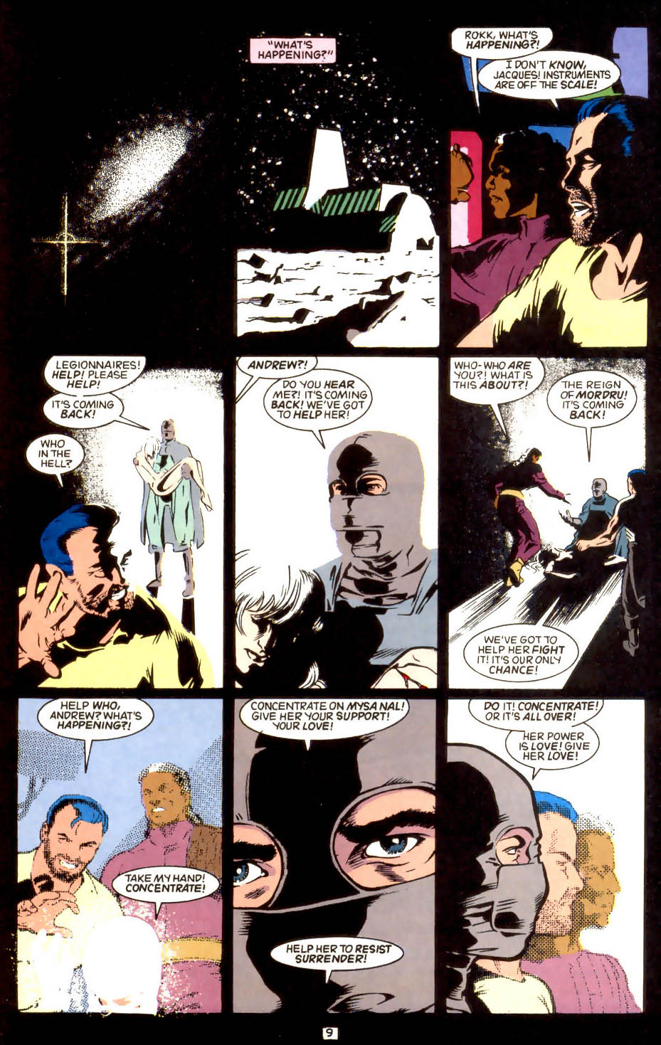 Legion of Super-Heroes (1989) 44 Page 9