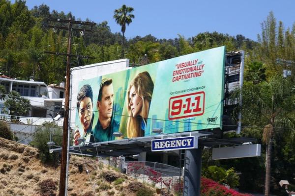 911 season 1 Emmy consideration billboard