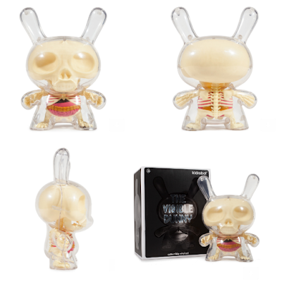 "Regular Edition Visible Dunny 8"" Vinyl Figure by Jason Freeny x Kidrobot"