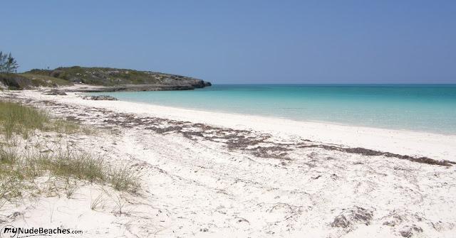 Playa nudista Playa Pilar (Cuba)