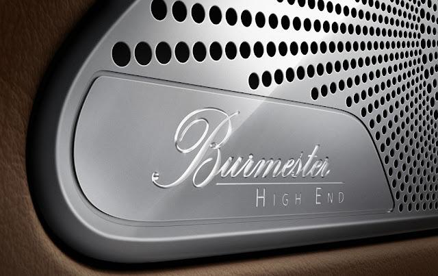 Mercedes S500 4MATIC Coupe 2017 sử dụng Hệ thống âm thanh vòm Burmester® high-end 3D 24 loa