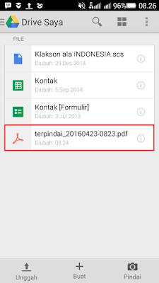 Tutorial Scan dokumen berupa kertas (hardcopy) menjadi file PDF (softcopy) melalui smartphone Android. Mudah, simpel, dan bisa dilakukan sendiri.