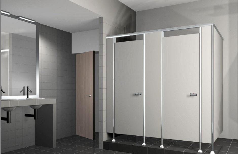 Vách ngăn vệ sinh Compact : Tấm vách ngăn nhà vệ sinh Compact