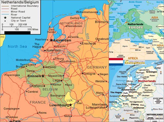 Peta Belanda